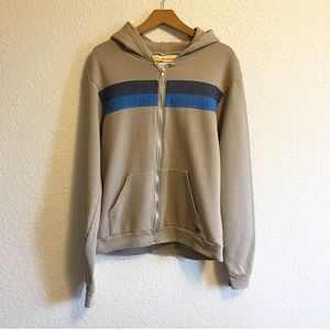 Aviator Nation Vintage Striped Hoodie